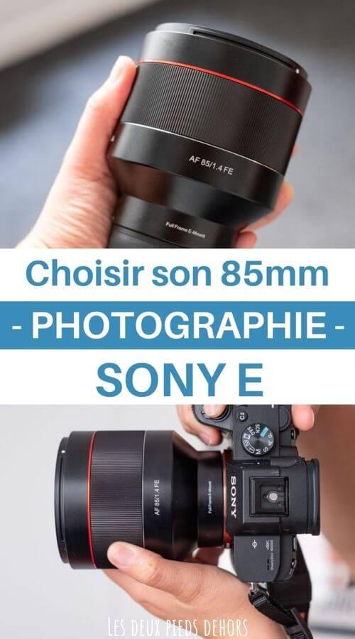 Les meilleurs 85mm Sony