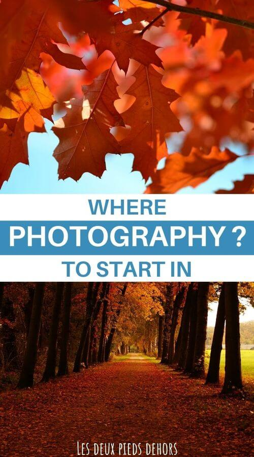 Getting started in photography the essentials
